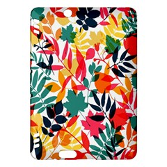 Seamless Autumn Leaves Pattern  Kindle Fire Hdx Hardshell Case
