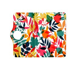 Seamless Autumn Leaves Pattern  Kindle Fire HDX 8.9  Flip 360 Case
