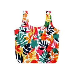 Seamless Autumn Leaves Pattern  Full Print Recycle Bags (s)