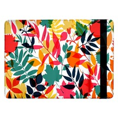 Seamless Autumn Leaves Pattern  Samsung Galaxy Tab Pro 12.2  Flip Case