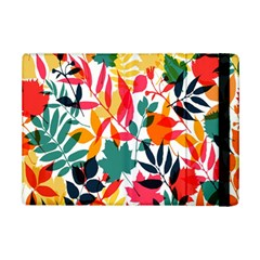 Seamless Autumn Leaves Pattern  Ipad Mini 2 Flip Cases