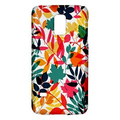 Seamless Autumn Leaves Pattern  Galaxy S5 Mini