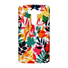 Seamless Autumn Leaves Pattern  LG G3 Hardshell Case