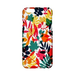 Seamless Autumn Leaves Pattern  Apple Iphone 6/6s Hardshell Case