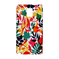 Seamless Autumn Leaves Pattern  Samsung Galaxy Note 4 Hardshell Case
