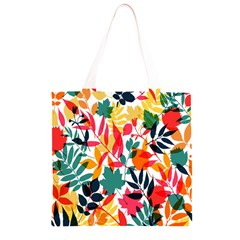 Seamless Autumn Leaves Pattern  Grocery Light Tote Bag