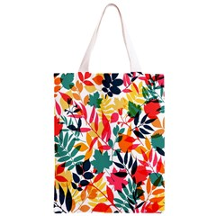 Seamless Autumn Leaves Pattern  Classic Light Tote Bag