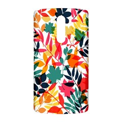 Seamless Autumn Leaves Pattern  LG G3 Back Case