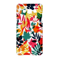 Seamless Autumn Leaves Pattern  Samsung Galaxy A5 Hardshell Case