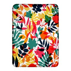 Seamless Autumn Leaves Pattern  Samsung Galaxy Tab 4 (10.1 ) Hardshell Case