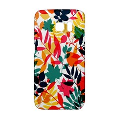 Seamless Autumn Leaves Pattern  Galaxy S6 Edge