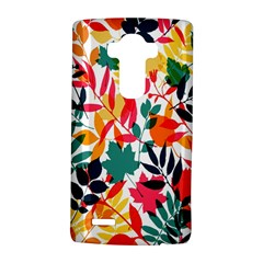 Seamless Autumn Leaves Pattern  Lg G4 Hardshell Case