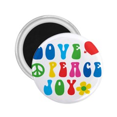 Love Peace And Joy  2.25  Magnets