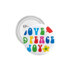 Love Peace And Joy  1.75  Buttons