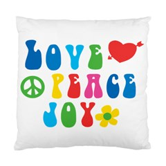 Love Peace And Joy  Standard Cushion Case (one Side)
