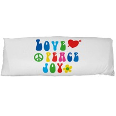 Love Peace And Joy Body Pillow (dakimakura) Case