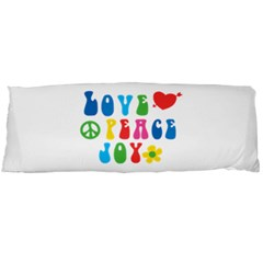 Love Peace And Joy Body Pillow (Dakimakura) Case (Two Sides)