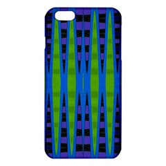 Blue Green Geometric iPhone 6 Plus/6S Plus TPU Case