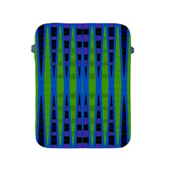 Blue Green Geometric Apple Ipad 2/3/4 Protective Soft Cases