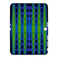 Blue Green Geometric Samsung Galaxy Tab 4 (10 1 ) Hardshell Case