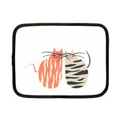 Two Lovely Cats   Netbook Case (small)