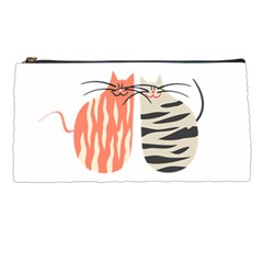 Two Lovely Cats   Pencil Cases