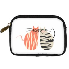 Two Lovely Cats   Digital Camera Cases