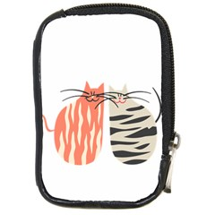 Two Lovely Cats   Compact Camera Cases