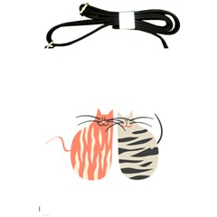 Two Lovely Cats   Shoulder Sling Bags