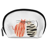 Two Lovely Cats   Accessory Pouches (Large)  Front