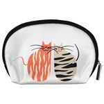Two Lovely Cats   Accessory Pouches (Large)  Back