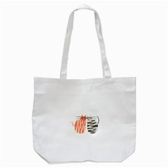Two Lovely Cats   Tote Bag (White)