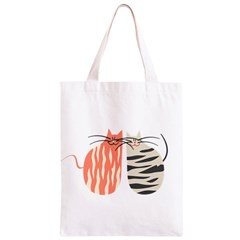Two Lovely Cats   Classic Light Tote Bag