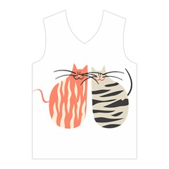 Two Lovely Cats   Men s Basketball Tank Top