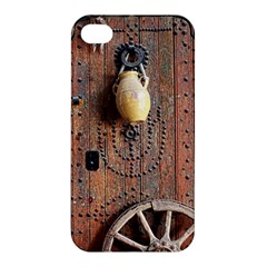 Oriental Wooden Rustic Door  Apple Iphone 4/4s Hardshell Case