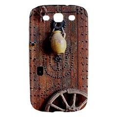 Oriental Wooden Rustic Door  Samsung Galaxy S III Hardshell Case