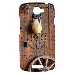 Oriental Wooden Rustic Door  HTC One S Hardshell Case