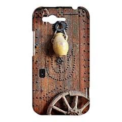 Oriental Wooden Rustic Door  HTC Rhyme