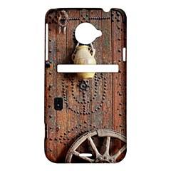 Oriental Wooden Rustic Door  HTC Evo 4G LTE Hardshell Case