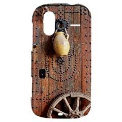 Oriental Wooden Rustic Door  HTC Amaze 4G Hardshell Case