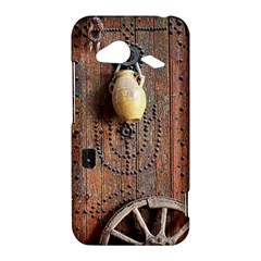 Oriental Wooden Rustic Door  HTC Droid Incredible 4G LTE Hardshell Case