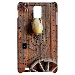 Oriental Wooden Rustic Door  Samsung Infuse 4G Hardshell Case