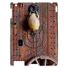 Oriental Wooden Rustic Door  Apple iPad 2 Hardshell Case