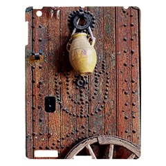 Oriental Wooden Rustic Door  Apple Ipad 3/4 Hardshell Case