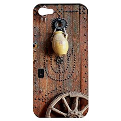 Oriental Wooden Rustic Door  Apple iPhone 5 Hardshell Case