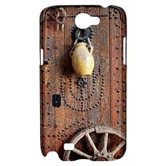 Oriental Wooden Rustic Door  Samsung Galaxy Note 2 Hardshell Case