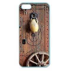 Oriental Wooden Rustic Door  Apple Seamless iPhone 5 Case (Color)