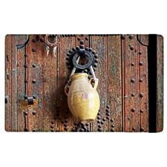Oriental Wooden Rustic Door  Apple Ipad 2 Flip Case