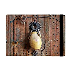 Oriental Wooden Rustic Door  Apple iPad Mini Flip Case
