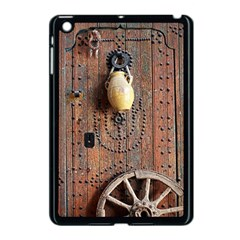 Oriental Wooden Rustic Door  Apple Ipad Mini Case (black)